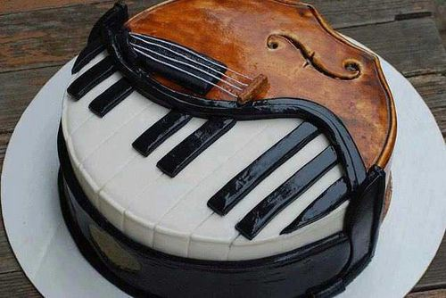 food-art-design-kake-violin-piano-decorate-arts